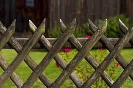 A szép fa kerítés
