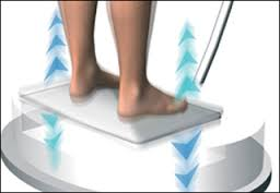 A vibrációs gép használata segít a súlycsökkentésben